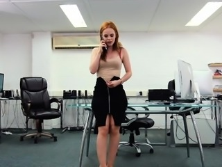 Big ass secretary hardcore with creampie