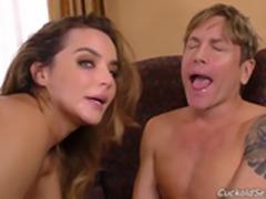 [CuckoldSessions] Natasha Nice [HD 1080, 2 on 1, Anal, Big Tits, Black, Blowjob,