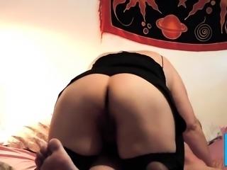 Fucking my BBW - back view