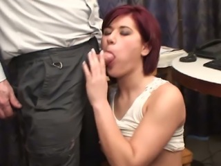 This bootyfull nurse is every easy to work with and she loves giving head