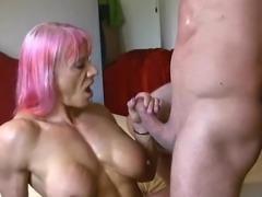Muscle woman fucking