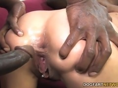 French Lou Charmelle loves big black dick. Jon Jon and Wesley Pipes included...