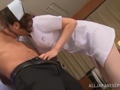 Pretty Japanese Nurse Enjoying A Hardcore Missionary Style Fuck In A Hospital...
