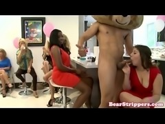 Bachelorettes bff facialized by stripper