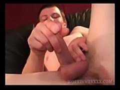 Amateur JT Stroking One Out