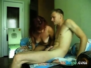russian milf on homemade cam fucking
