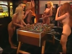 Naked girls playing games