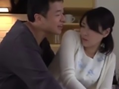 Asian Japanese Milf was harassed by her stepson