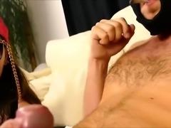 Curvy amateur babe drives a thick pole to pleasure POV style