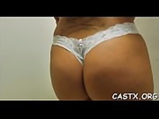 Pleasing chick and a tricky agent fuck hardcore till orgasm