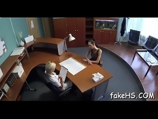 Breathtaking sex inside the fake hospital