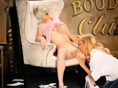 Blonde Cougar vs Blonde Teen