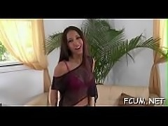 Bawdy doxy turns out to be good at riding on hard cock