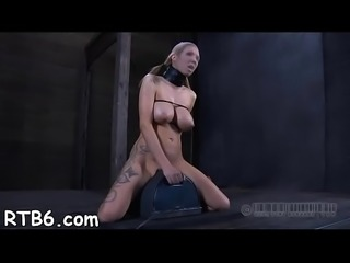 Wild agony for slut