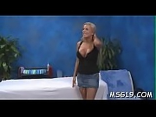 Amazing girl with perky tits gets enjoyment of deep  mouth job