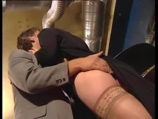 Older Mature Saggy Tits  Elodie Assfucked Stockings