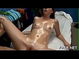 Hot playgirl sucking off deep her massage therapist