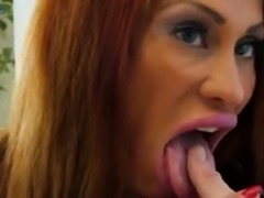 Giant breasted Latina slut Sheila Marie is eager to ride firm boner cock