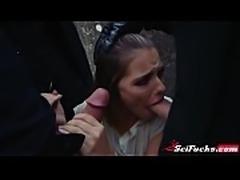 The Imperium fucks young blonde Jedi Adriana Chechik
