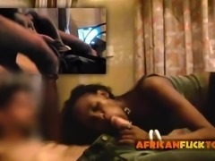 African Hooker Ann Riding White Boner