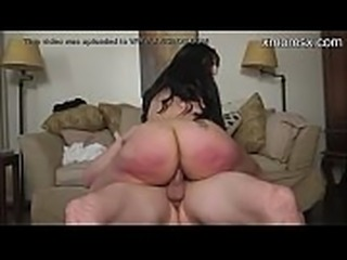 Big booty amateur mom bouncing on cock