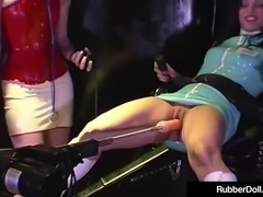 latex nurses rubberdoll & anastasia trained by hn rubberella