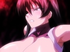 Big breasted babe enjoys an intense fucking in hentai action
