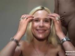 Candy Sue Gets Multiple Facials - P1