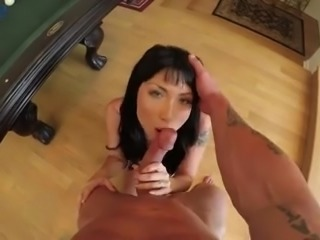 Amazing South Korean brunette beauty Rina Ellis gets her Asian pussy fucked