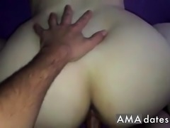 Big ass amateur fucked doggy style