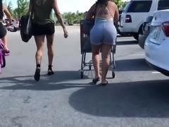 Huge Jungle Booty Latina Teen VPL