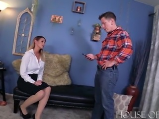 Blackmailed Teacher Fucked -Brooklyn Chase