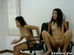 japanese wet slut masturbating on webcam show