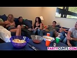 First Game Party With Hot Cunts