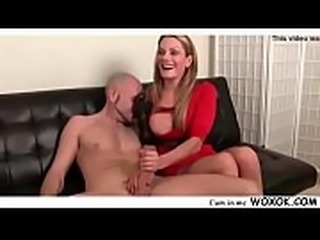 WOXOK.COM Topless And Cum Blasted
