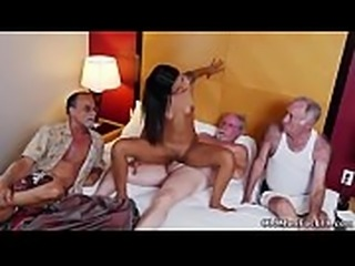 Old muscle men and eat sperm Staycation with a Latin Hottie