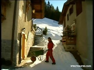 Sweet Rita Faltoyano Goes Hardcore Doggystyle In A Cabin