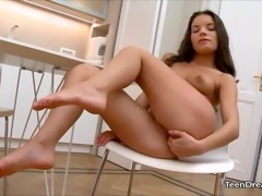 Anita Bellini Fingering Her Tight Pussy