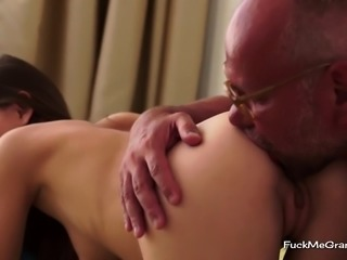 Beauty Loves Old Mans Dick