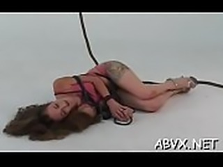Top notch dilettante bondage sex scenes with fine hotty