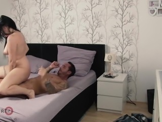 HITZEFREI Chubby German slut fucks her uncle