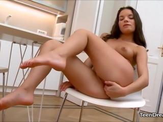Anita Bellini Fingering Her Tight Pussy