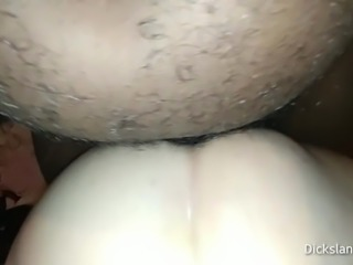 Mature BBW Fucked Deep In The Ass By BBC Anal Creampie