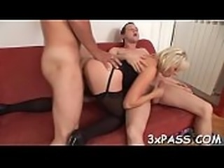 Great-looking trio bisex scene will turn you on