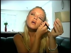 Pissing Her Panties  Doing Make-up