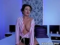 Cute Cougar Woman Masturbation On Webcam