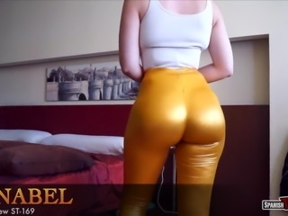 Big fat ass chick with tremendous cameltoe