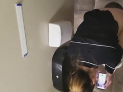Gas Station Toilet XV (Skinny Dirty Blonde)