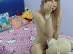 Girl Ride her Bear