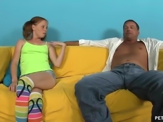 Teens Naked  Body Gives Her Uncle A Rapid Erection